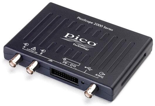 PicoScope 2205A Oscilloscope USB 2 canaux 25 MHz