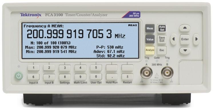 application fréquencemètre