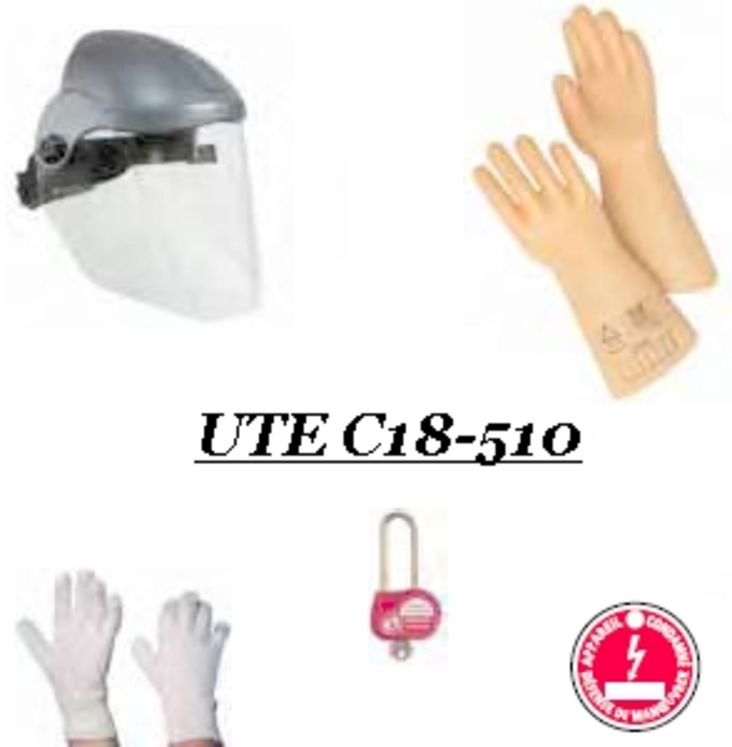 Kit de protection individuelle et de condamnation, UTE C18-510
